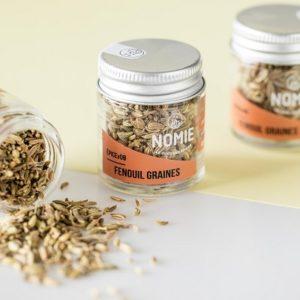 Fenouil en graines, épices Nomie