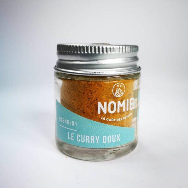Le Curry Doux, Nomie ®