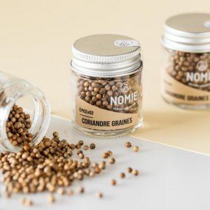 Coriandre en graines, épices Nomie