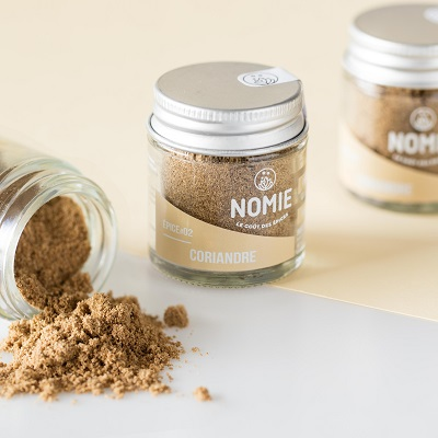 Coriandre en poudre, épices Nomie