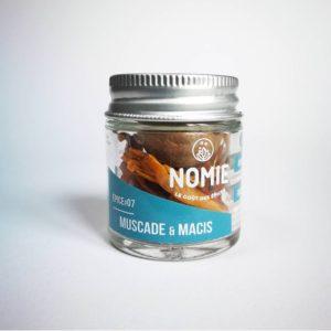 Muscade & Macis, Nomie ®