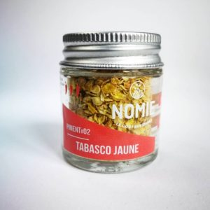 Piment Tabasco jaune, Nomie ®