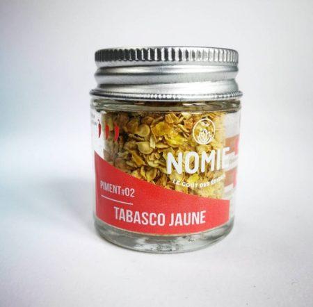 Piment Tabasco jaune, Nomie ®