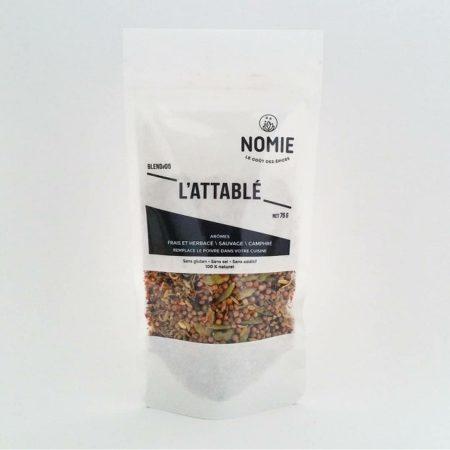 L'Attablé, Remplace le poivre dans votre cuisine, Nomie ®