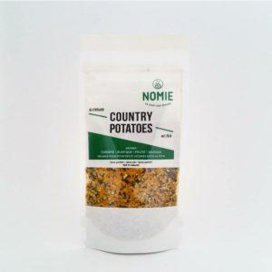 Country Potatoes, Mélange pour potatoes et légumes rôtis au four, Nomie ®