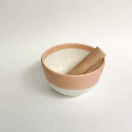Mortier à épices, type Suribachi - NOMIE